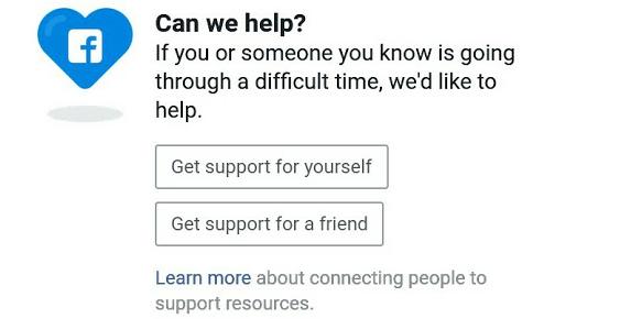 Facebook bantu mengatasi masalah kesehatan mental