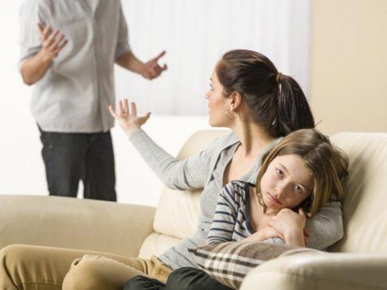 orang tua suka bertengkar