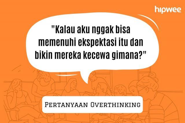 tanda overthinking